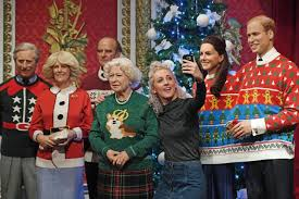 madame tussauds decked out the royal family in ugly christmas