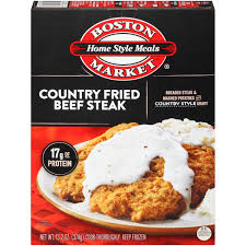 boston market home style meals country fried beef steak 13 2 oz
