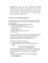 Billing Specialist Resume Sample by Radiographs In Prosthodontics