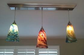 Cool Lamp Shades Home Interior Stunning Kitchen Lighting With Colorful Hanging