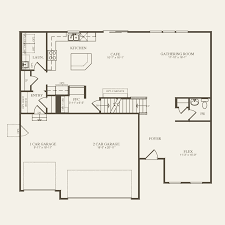 echelon floor plan greenfield at the trails of silver glen in south elgin illinois