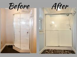 Glass Shower Doors And Walls by Shower Replacement Shower Re Do Glass Walk In Shower Sliding