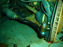 tie rod replacement how to chevy trailblazer trailblazer ss and
