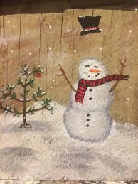 pin by lynda coté on peinture sur bois pinterest snowman