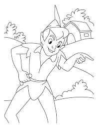 beautiful pictures wendy peter pan colouring pages 2