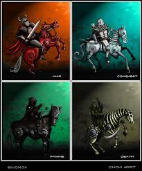 image result for colours of apocalypse horseman of the