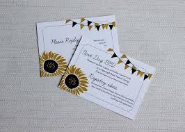sunflower wedding invitations sunnyflowers sunflower wedding invitations be my guest
