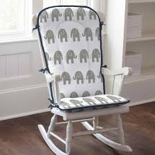 White Rocking Chair Cushion Cushions For Rocking Chairs Indoors Cushions Decoration