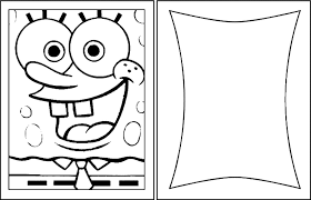 birthday cards blank spongebob coloring pages 432930 coloring