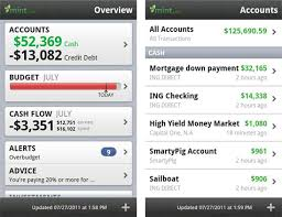 finance app for android mint personal finance app for android gets a minor update