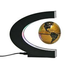 c shape magnetic levitation floating globe drgrab