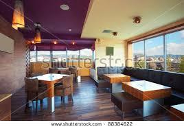 Cafe Interior Stock Images RoyaltyFree Images  Vectors - Modern cafe interior design