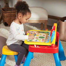 vtech activity table deluxe expandable three in one touch learn activity desk deluxe from
