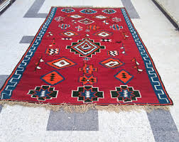 Large Kilim Rugs Kilim Red And White Rugs Kilim Rugs Handmade Wool