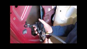 how to replace rear door lock actuator on 2008 impala youtube