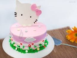 hello kitty theme cake hello kitty cake for noida bakingo