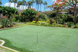 hawaii putting greens maui artificial golf grass