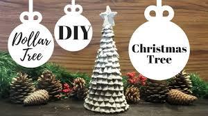 how to make a pine cone christmas tree diy dollar tree pine cone