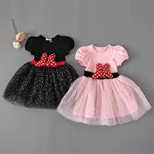 minnie mouse dress kids girls party wear fancy halloween