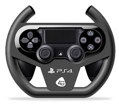joystick volante volant compact dualshock 4 ps4 discoazul