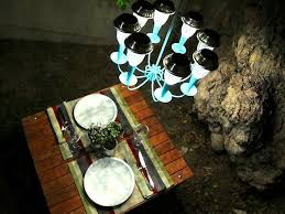 How To Make A Cardboard Chandelier How To Make A Solar Light Chandelier Homejelly
