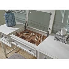 Mirrored Desk Vanity Makeup Tables And Vanities You U0027ll Love Wayfair