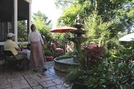 Arts And Crafts Garden - colonial sense architecture towns new berlin antiques arts and