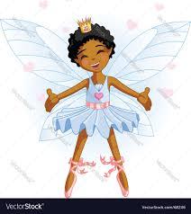 cartoon fairy royalty free vector image vectorstock