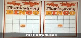 bible thanksgiving bingo