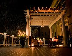 Trex Lighting Illuminate The Night With Strings Of Light Living Outdoors