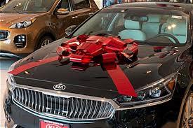 car ribbon shiny bow car ribbon ships assembled with 2 tails