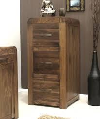 Three Drawer Wood File Cabinet by Baumhaus Shiro Walnut 3 Drawer Filing Cabinet Amazon Co Uk