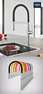 grohe essence kitchen faucet the new grohe essence semi pro kitchen faucet has modern design