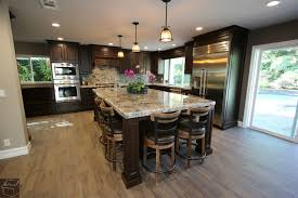 kitchen contemporary kitchen design custom cabinets orange