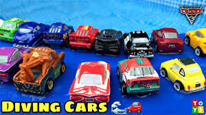 playing lightning mcqueen and cars 3 characters racing to the