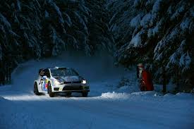 subaru rally snow picture volkswagen rallying polo r wrc sweden sport snow auto