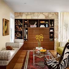 austin sound absorbing rug living room midcentury with wood floor