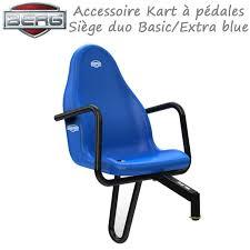 siege passager siège passager pour kart à pédales basic et blue 15 37 00 00