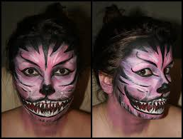 cheshire cat halloween makeup cheshire cat face paint by uberkayt on deviantart