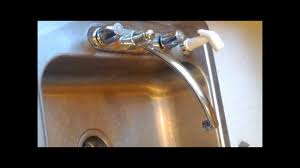 how to fix a dripping faucet delta 2100 u0026 2400 series youtube