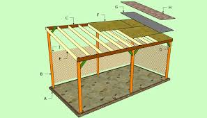 flat roof double carport plans howtospecialist how to build