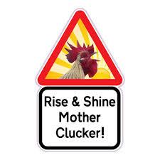 jaf graphics funny chicken sign cockerel hen chicken coop