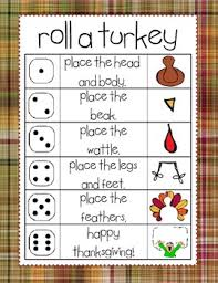 thanksgiving roll and draw a turkey 2 in 1 by ortiz