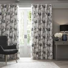 Curtains 240cm Drop Ready Made All Ready Made Curtains Eyelet U0026 Pencil Pleat Blackout Dove Mill
