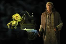 a christmas carol with bay area star james carpenter opens in san