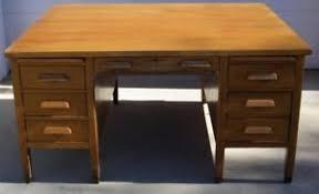 Modern Partners Desk Antique And Crafts Mission Style Oak Partners Desk 60 X 48