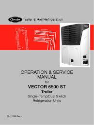 carrier vector 6500 u0026 6600 heat pump mechanical engineering