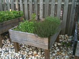 Standing Planter Box Plans by Raised Garden Bed On Legs 3 Steps