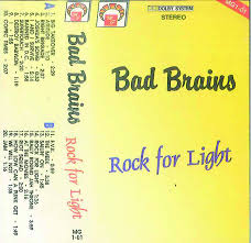 bad brains rock for light bad brains rock for light cassette at discogs