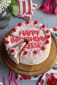 happy birthday reese a recipe for reese u0027s cherry birthday cake